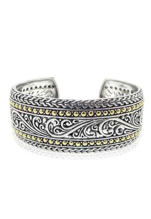 Effy 925 Sterling Silver and Gold Cuff