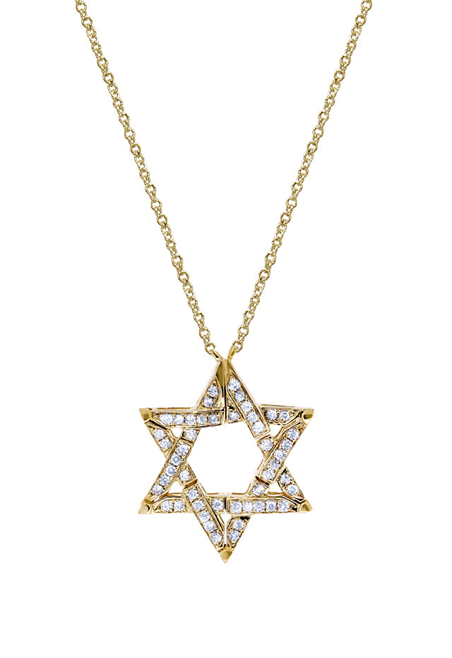 DiVersa Star of David Diamond Pendant