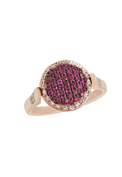 DiVersa Ruby and Diamond ring, 1.24 TCW