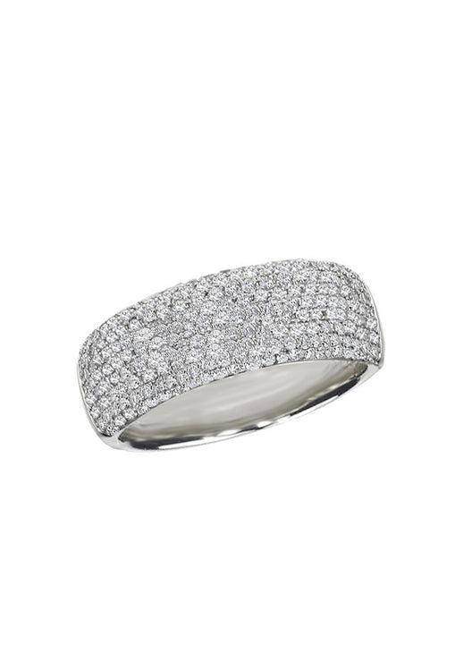 Effy Pave Classica 14K White Gold Diamond Ring, 0.99 TCW