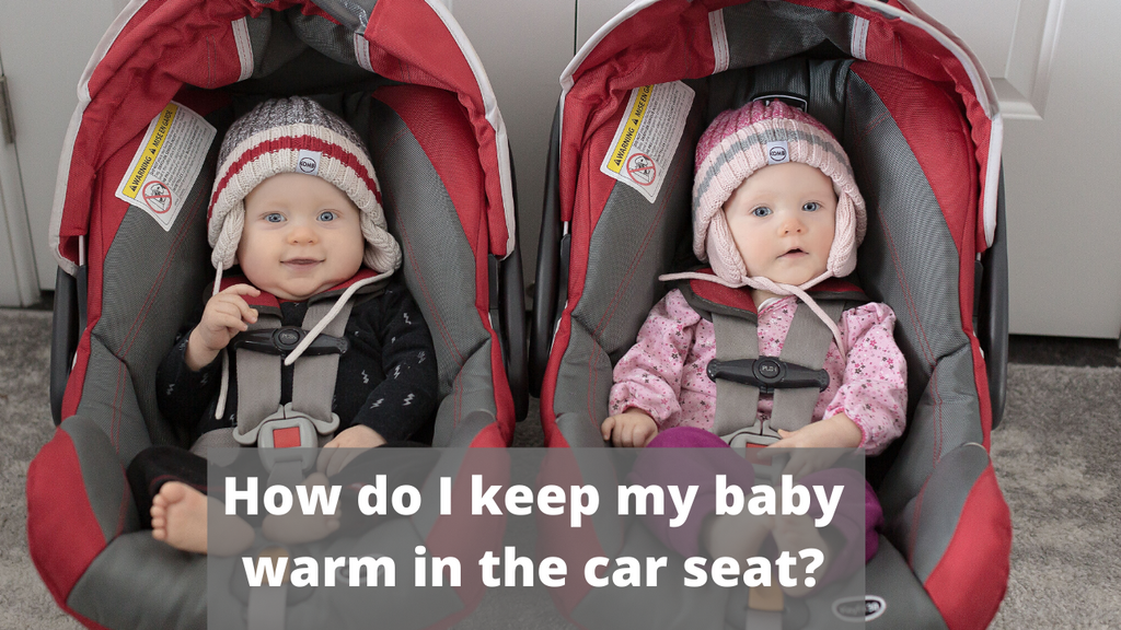 How to keep my baby warm (& SAFE)  in the car seat? (video)