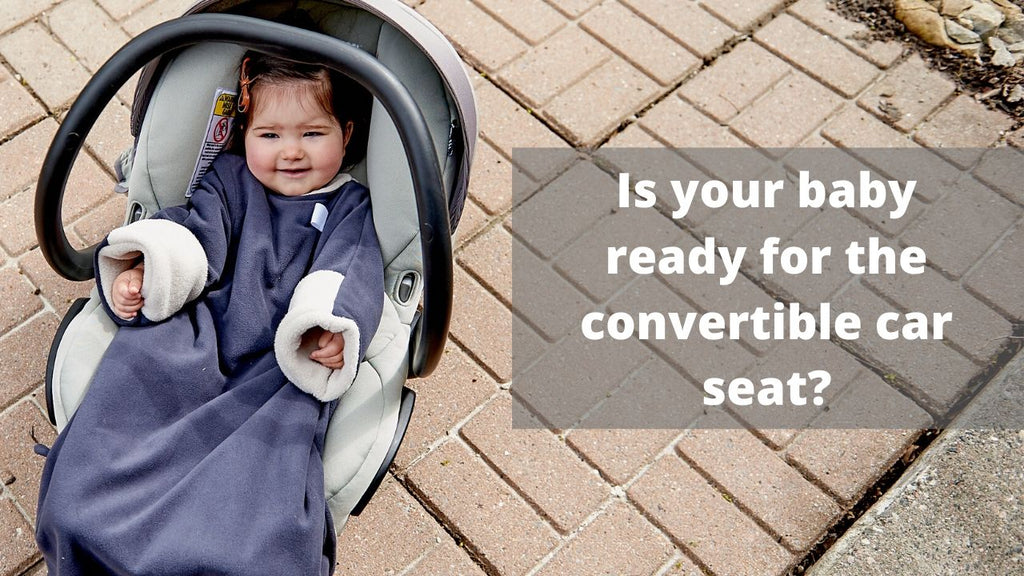 Is Your Baby Ready for the Convertible Car Seat? (video)