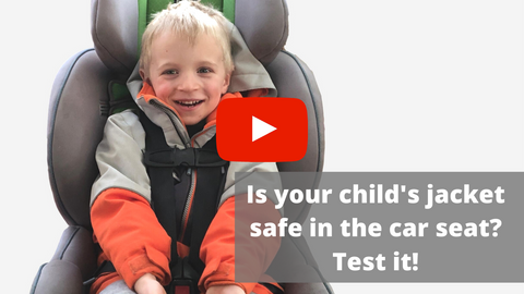 How to test your child's jacket in the car seat
