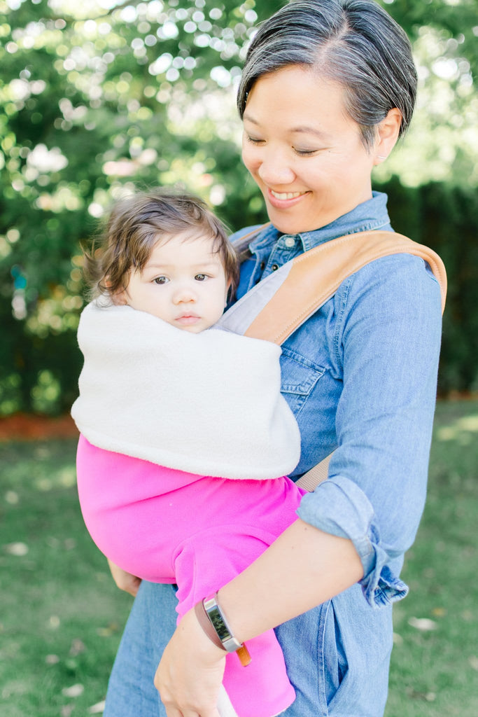 Baby carrier blanket