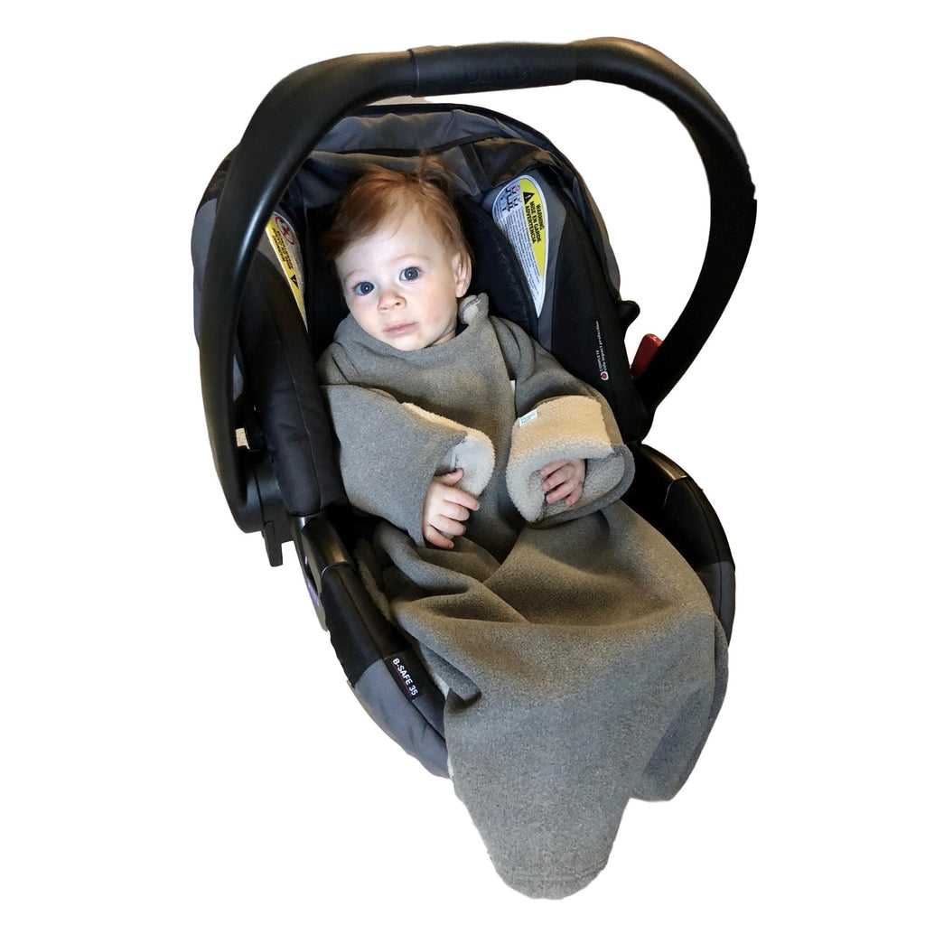 baby car seat blanket jacket safe