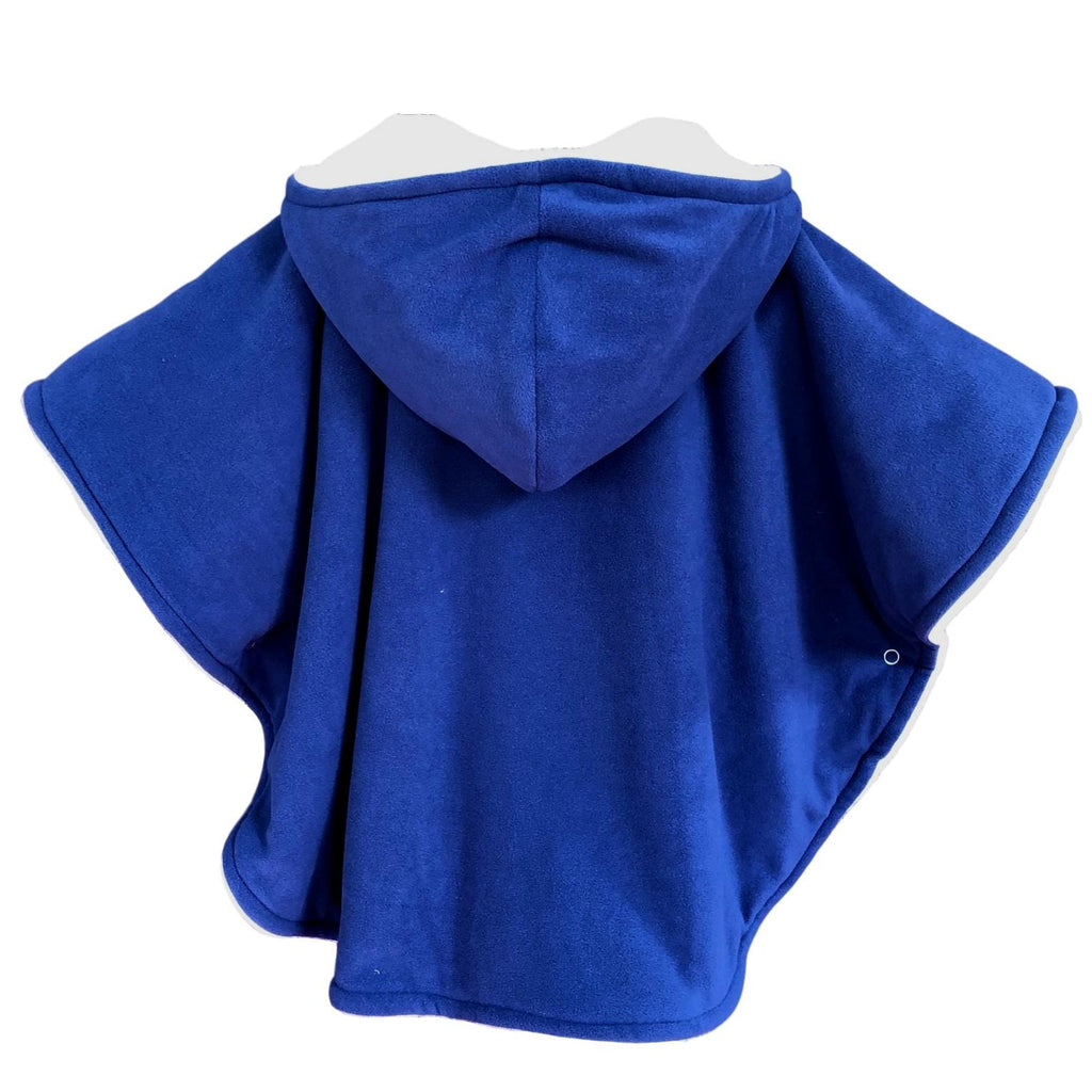 back of toddler poncho