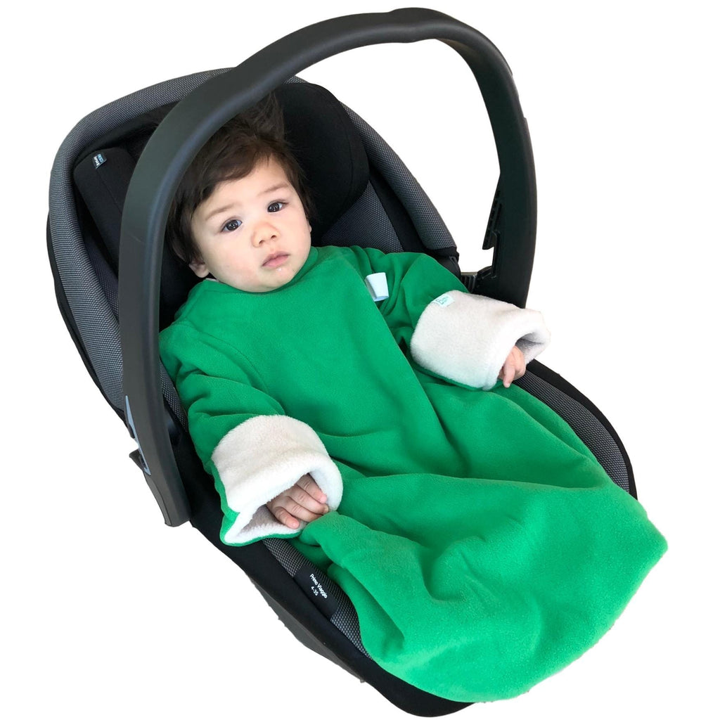 3-in-1 Blanket (Green/White)