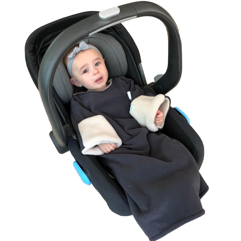 Safe baby jacket for car seat