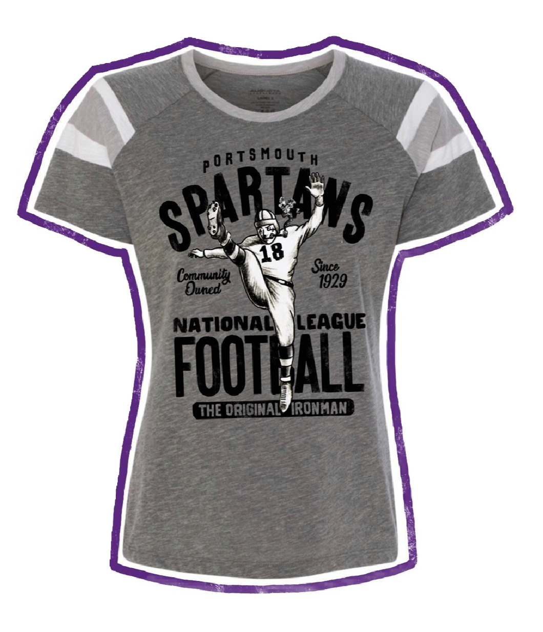 Portsmouth Spartans Tee - Women's