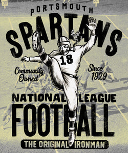Portsmouth Spartans Poster