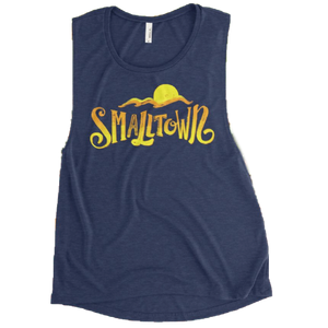 Small Town Muscle Tank - Women's