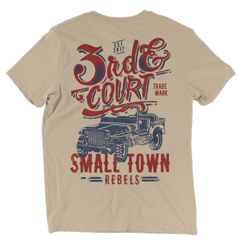 Small Town Rebels Tee - Men's