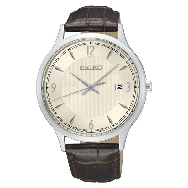 Seiko Gents Dress Leather