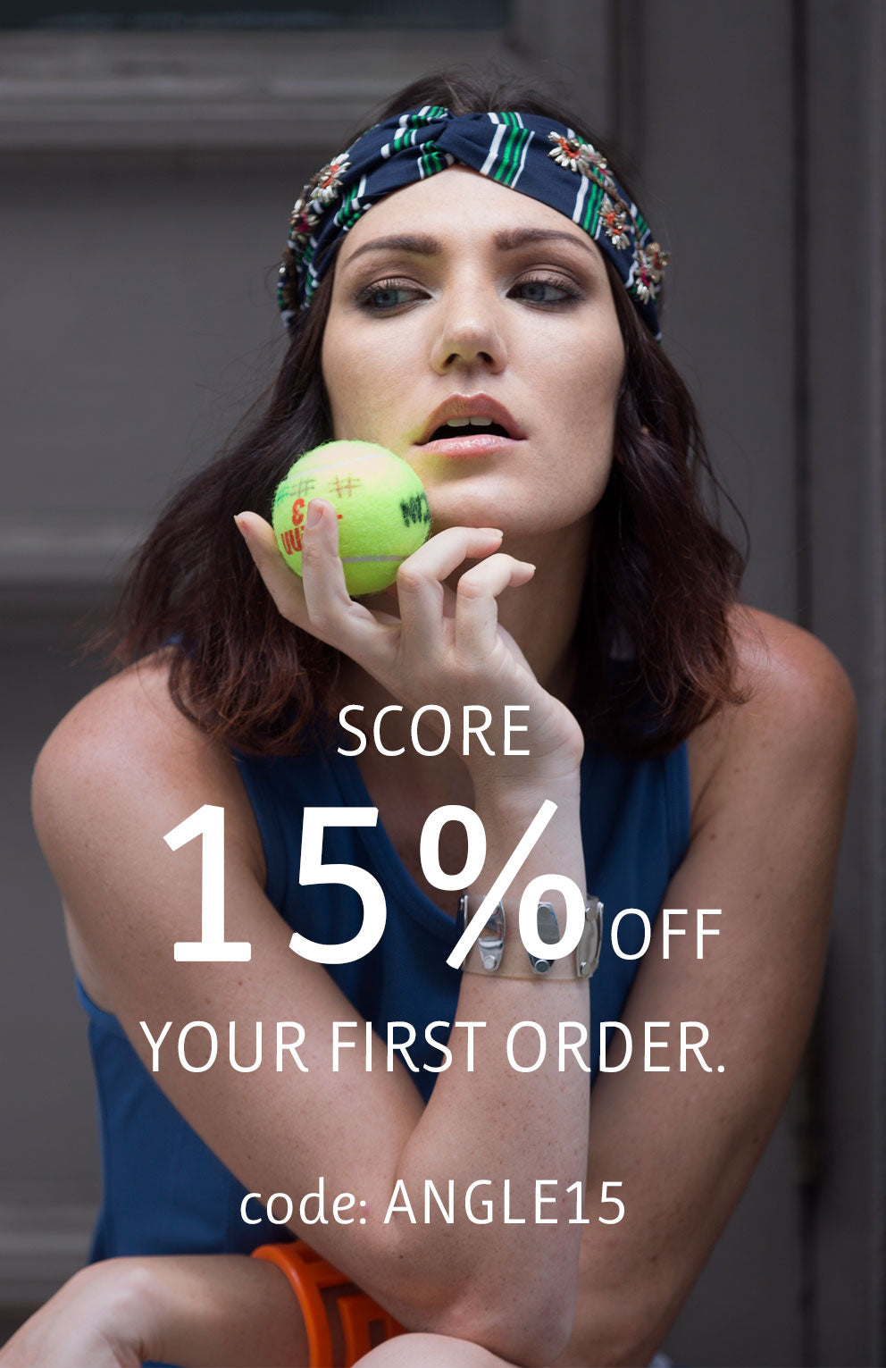 Score 20% off your first order