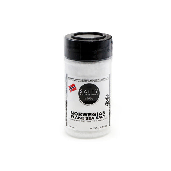 NORWEGIAN FLAKE SEA SALT - 100% Pure - Finishing Salt from Norway