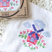 Windmill Embroidery Kit