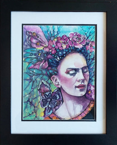 "Original Frida Kahlo ""SOLD"""