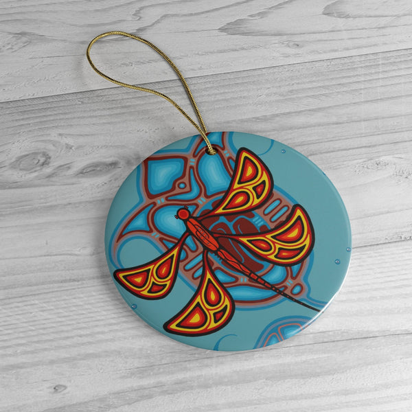 Dreamcatcher Ceramic Ornaments