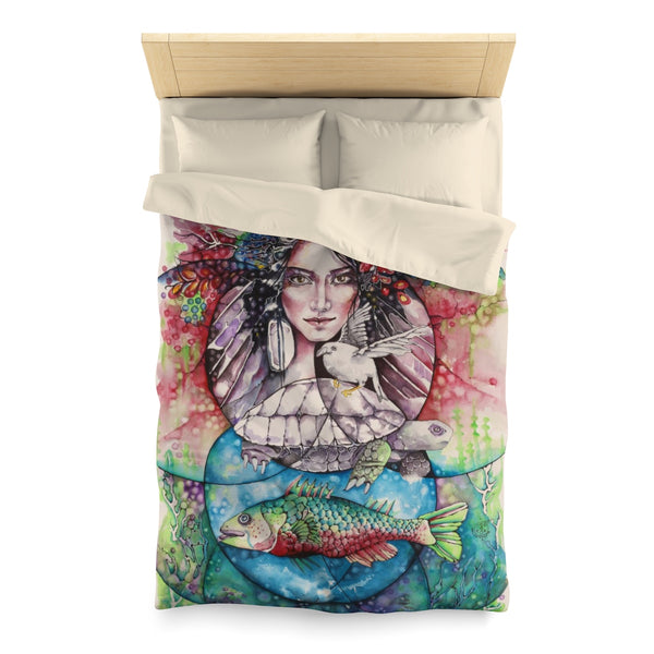 Four Elements Microfiber Duvet Cover