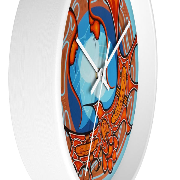 Mind, Body, Spirit ll Wall clock