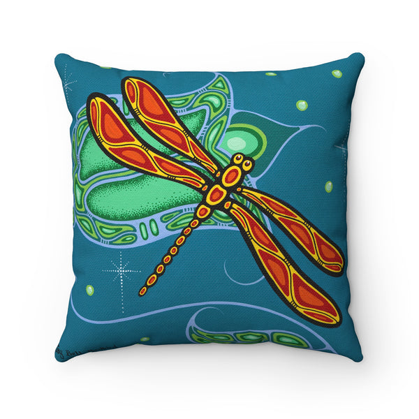 Beautiful Mind Body and Spirit Square Pillow