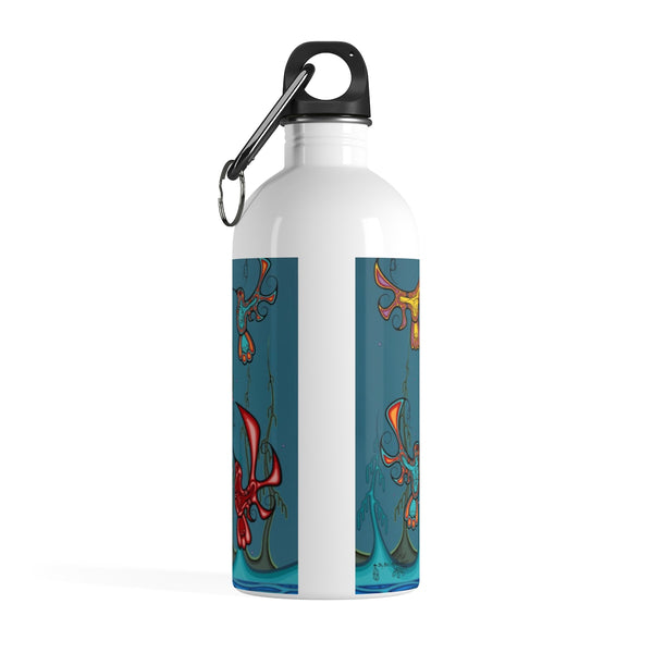 Loyalty of our Seven Grandfathers Teachings Stainless Steel Water Bottle