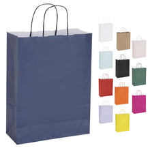 Pack of 10 Twisted Handle Kraft Paper Bags 26x11x34.5cm