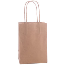 Pack of 10 Twisted Handle Kraft Paper Gift / Party Bags