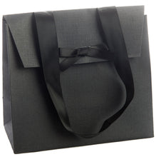 Pack of 5 Handmade Kraft Paper Gift Bags with Ribbon Handles