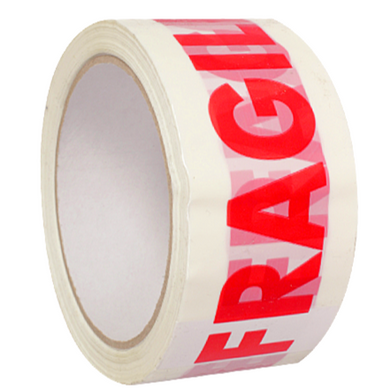 6 Rolls of Fragile Tape - 66m per roll