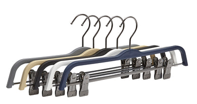 Pack of 5 Air-Tech Clip Hangers - BORDERS HOMEWARES by Mainetti UK