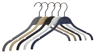 Pack of 5 Air-Tech Top Hangers - BORDERS HOMEWARES by Mainetti UK