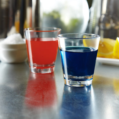 Glastic, Plastic Shot Glasses made from almost indestructible Tritan material