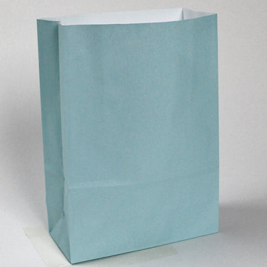 Pack of 10 Kraft Paper Bags - 90gsm, 18x8x25cm - 12 Colour Options - BORDERS HOMEWARES by Mainetti UK