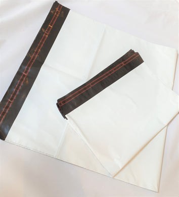 White Mailer Mailing Postal Bags - Available in 2 sizes - Packs of 50 and 1000