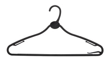 Black 42cm All Plastic Multipurpose Hanger