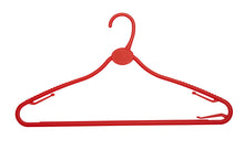 Pack of 10 All Plastic Multipurpose Hangers - 42cm - BORDERS HOMEWARES by Mainetti UK