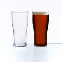 Pack of 4 CE Marked Pint to Line Glasses (Tritan Plastic) - BORDERS HOMEWARES by Mainetti UK