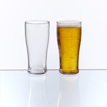 Glastic, Plastic Half Pint Glass made from almost indestructible Tritan material