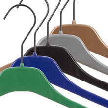 Pack of 10 Rainbow Shirt Hangers - BORDERS HOMEWARES by Mainetti UK