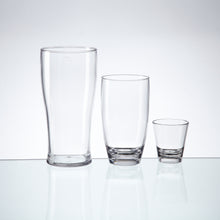Glastic, Plastic Glass contains - 4 x Pint, Highball & Shot glasses, made from almost indestructible Tritan material