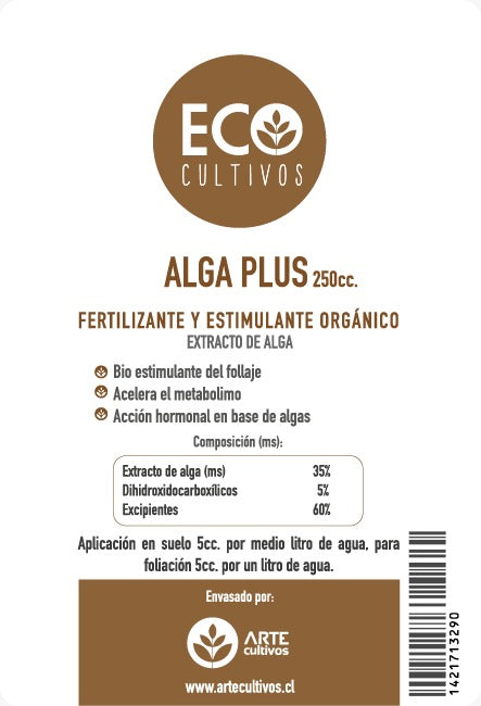 Fertilizante Alga Plus
