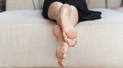 Excessively sweaty feet and the imbedded toenail - is there a link?