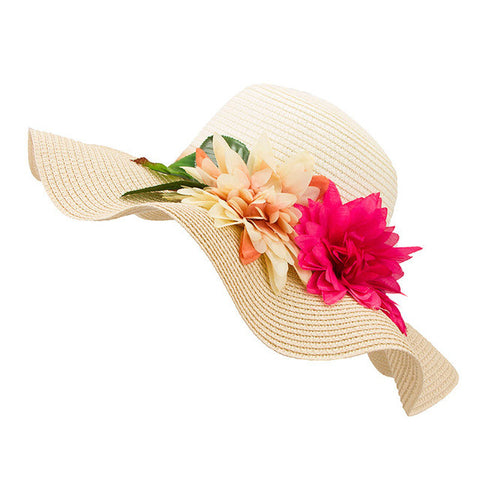 Large Brim Floppy Summer Beach-Free shipping