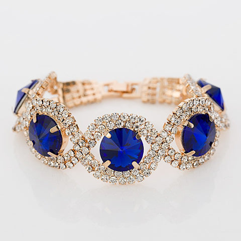 YFJEWE Luxury Fashion Bracelets & Bangles wholesale Rhinestone best sell Bracelets Bangles for women -free shipping