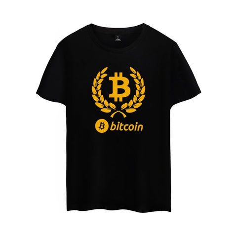 Digital currency Bitcoin T-shirt for Men & Women