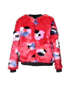Sandra Reversible Flower Power Bomber