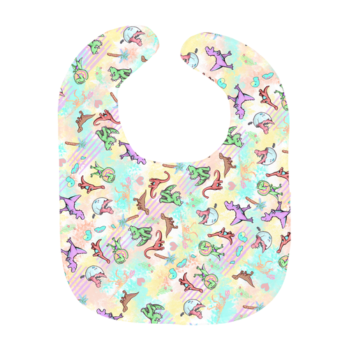 Heavyweight DinoGrrl bib