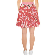 """Cherry Blossom Dancing Dragon"" women's skater skirt (multiple colors)"