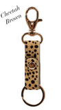ANIMAL PRINT KEYCHAIN